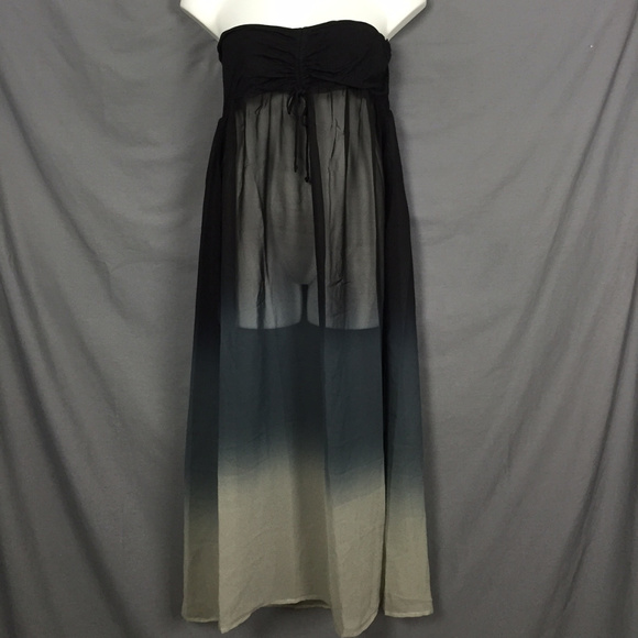 946564ff489f8 Swimsuits For All Swim | Sheer Chiffon Maxi Dress Suit Coverup ...